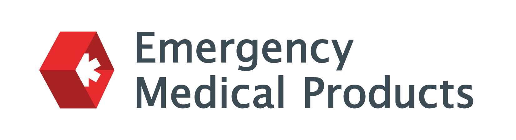 Emergency Medical Products logo image.